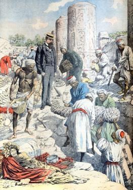 Albert Gayet Archaeological Dig Antinopolis Egypt (Jan 1904)