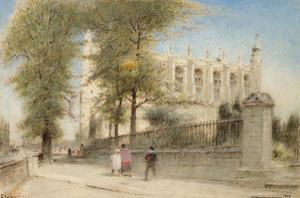 Eton College Windsor, 1923 by Albert Goodwin