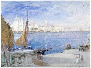 Venice, before the Campanile Fell, 1903 by Albert Goodwin