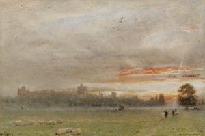 Windsor Castle, 1913 by Albert Goodwin