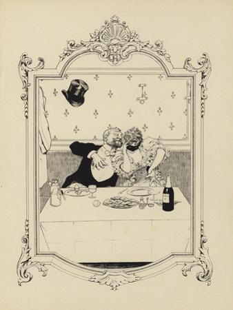 Cartoon from Memoires D'Une Glace