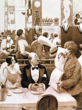 Restaurant, 1873-1942 by Albert Guillaume
