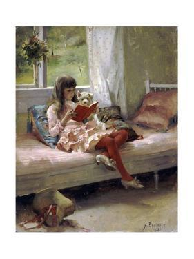 Good Friends, 1881 by Albert Gustaf Aristides Edelfelt