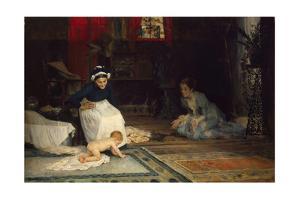 In the Nursery, 1885 by Albert Gustaf Aristides Edelfelt