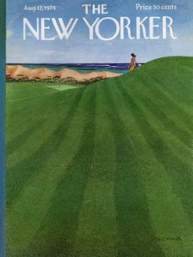 The New Yorker Cover - August 12, 1974 by Albert Hubbell