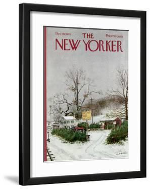 The New Yorker Cover - December 19, 1970 by Albert Hubbell