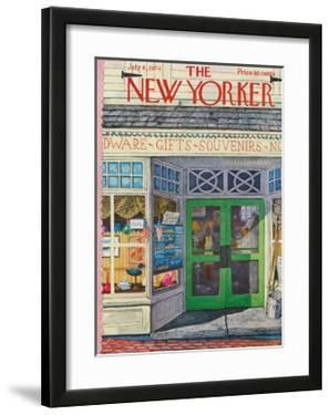The New Yorker Cover - July 8, 1974 by Albert Hubbell