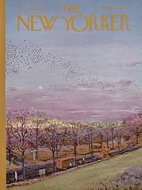 The New Yorker Cover - October 21, 1967 by Albert Hubbell