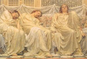 Dreamers, 1882 by Albert Joseph Moore