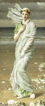 Sea Shells, 1875 by Albert Joseph Moore
