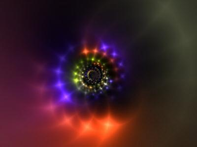 Abstract Sparkling Light Design