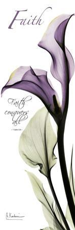 Calla Lily in Purple, Faith