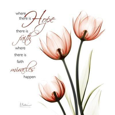 Swaying Tulips Pink, Hope