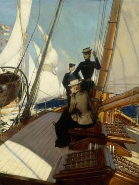 An Afternoon at Sea by Albert Lynch