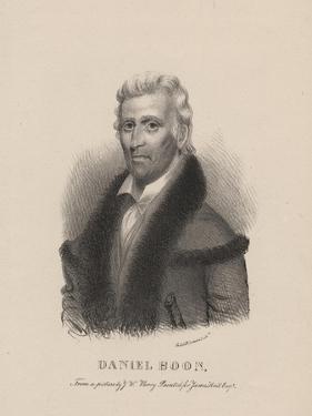 Daniel Boone, 1830 by Albert Newsam