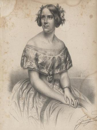 Jenny Lind, from Sheet Music for 'Swedish Melodies, Pieces and Operatic Songs', 1851