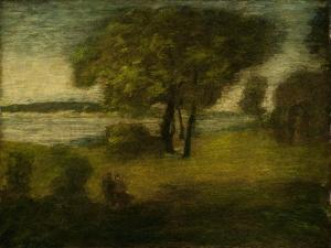 The River, c.1890 by Albert Pinkham Ryder