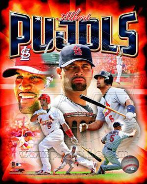 Albert Pujols 2011 Portrait Plus