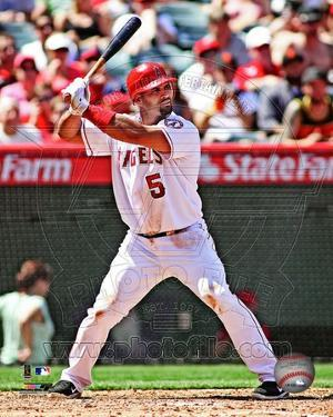 Albert Pujols 2012 Action