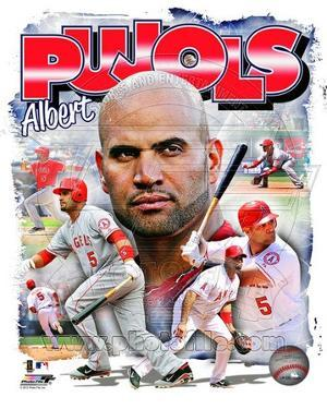 Albert Pujols 2012 Portrait Plus