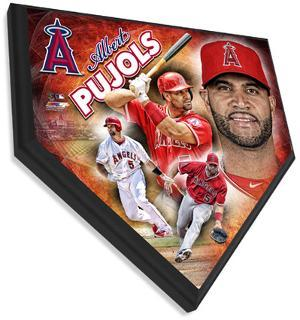 Albert Pujols Home Plate Plaque