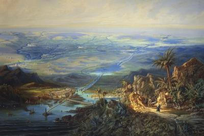 Egypt, View of the Suez Canal