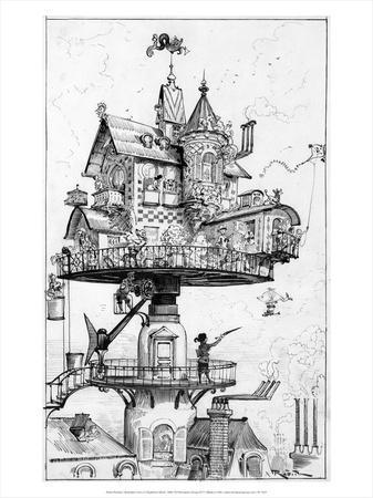 Illustration from Le Vingtie?me Sie?cle, 1883