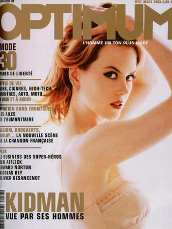L'Optimum, March 2003 - Nicole Kidman by Albert Sanchez