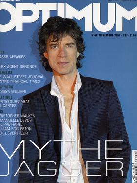L'Optimum, November 2001 - Mick Jagger by Albert Sanchez