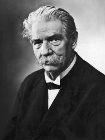 Albert Schweitzer French Theologian Philosopher Missionary Physician and Music Scholar