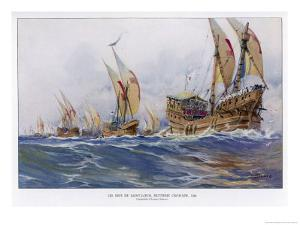 Eighth Crusade the Ships by Albert Sebille