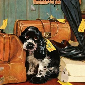 """""""Butch in Lost & Found,"""" January 29, 1949 by Albert Staehle"""