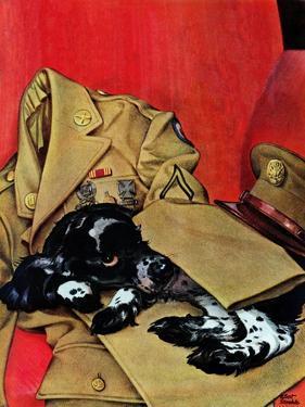 """Master's Uniform,"" June 10, 1944 by Albert Staehle"