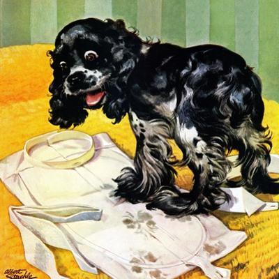 """Muddy Paw Prints,"" December 6, 1947"