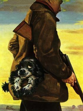 """""""Pocket Pal,"""" November 17, 1945 by Albert Staehle"""