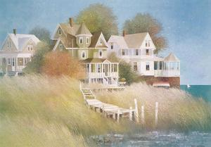 Cottages by the Sea by Albert Swayhoover