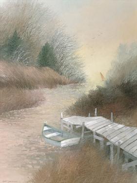Marsh Island Inlet by Albert Swayhoover