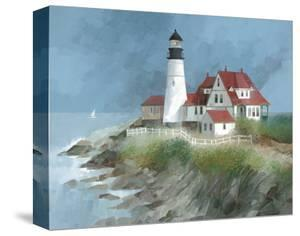 Portland Light, Maine by Albert Swayhoover