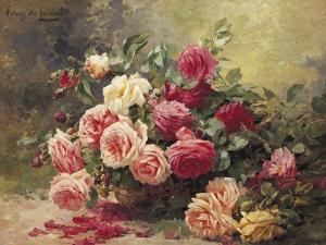 Roses by Albert Tibule Furcy de Lavault