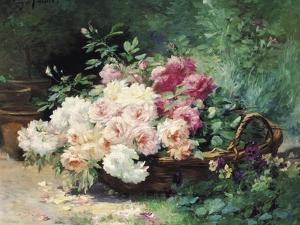 The Roses by Albert Tibule Furcy de Lavault