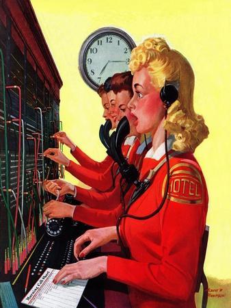 """Hotel Switchboard Operators,"" June 21, 1941"