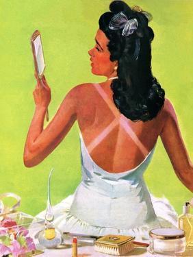 """Tan Lines,"" September 27, 1941 by Albert W. Hampson"