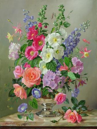 A September Floral Arrangement by Albert Williams