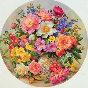 Garden Flowers of July by Albert Williams