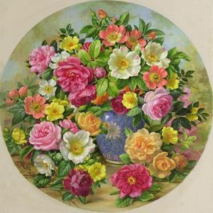 Homage to the Wild Rose by Albert Williams