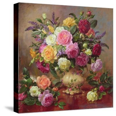 Roses from a Victorian Garden by Albert Williams