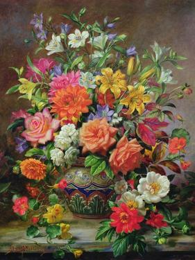 September Flowers, Symbols of Hope and Joy by Albert Williams