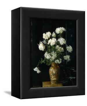 Chrysanthemums in an Oriental Vase by Alberta Binford McCloskey