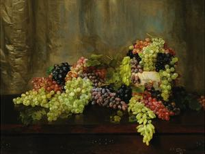 Grapes by Alberta Binford McCloskey