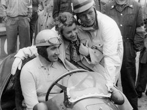 Alberto Ascari in a Ferrari, 1953